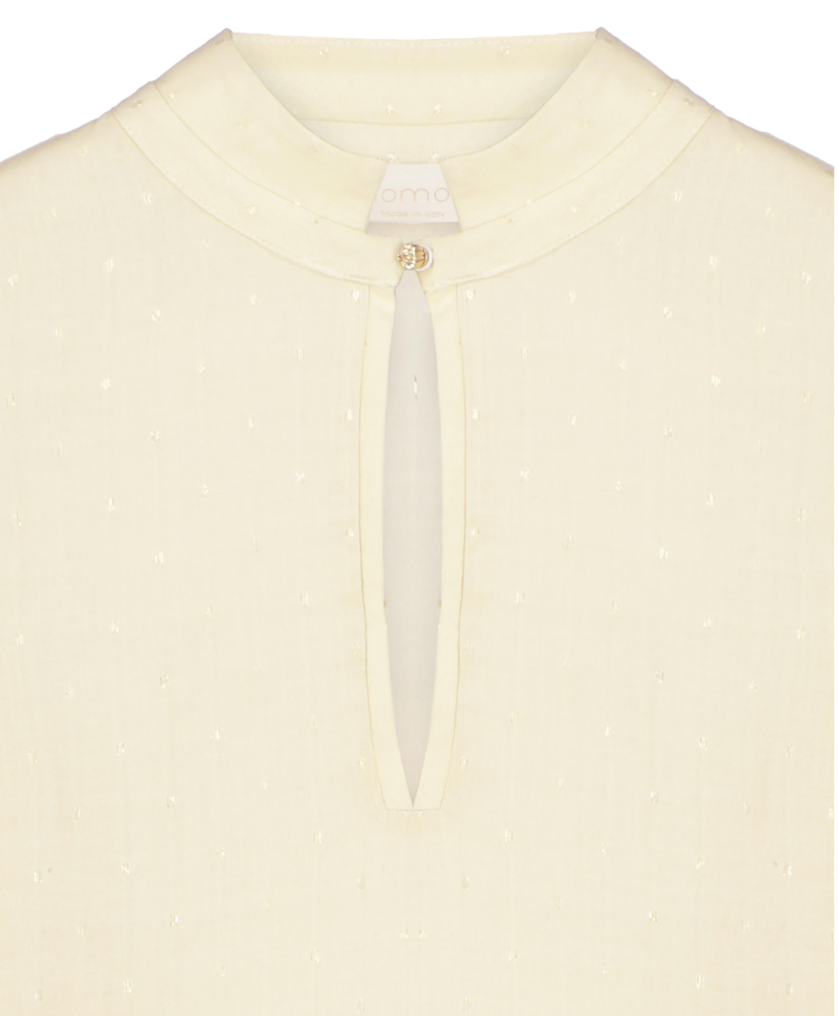 Centauro blouse with golden polka dots MOMONI | Blouse | MOBL0070026