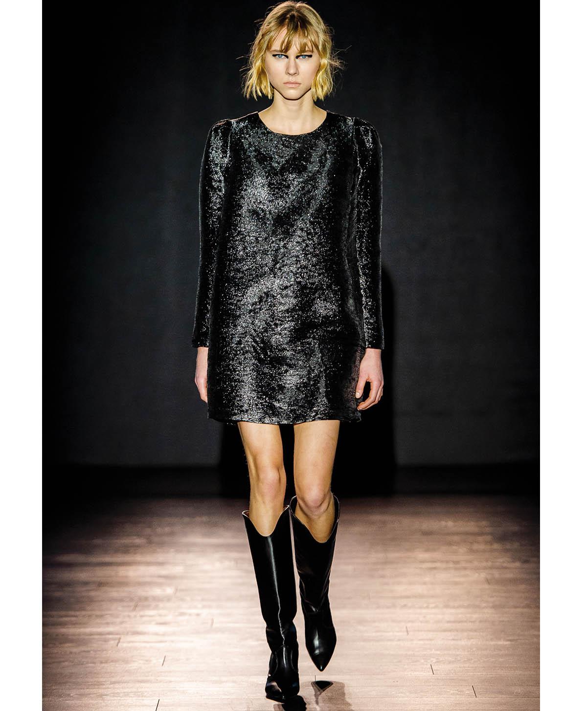 Short organza dress MOMONI | Dresses | MODR0280990