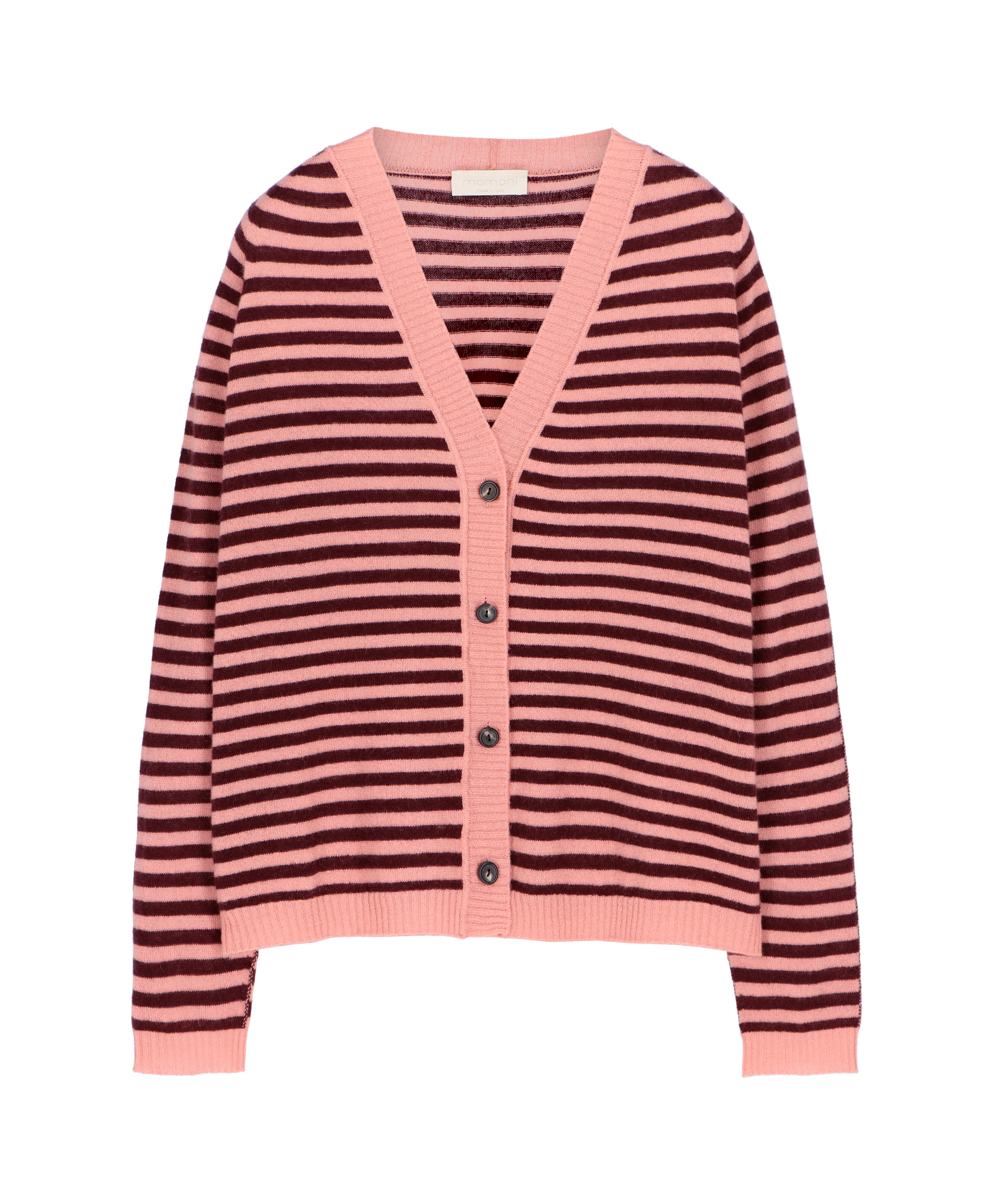 Fly striped cardigan MOMONI | Sweaters | MOKN0074021