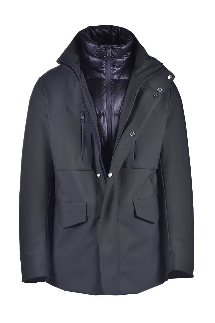 Military green down coat MONTECORE | Overcoat | 2920CX151 20257140