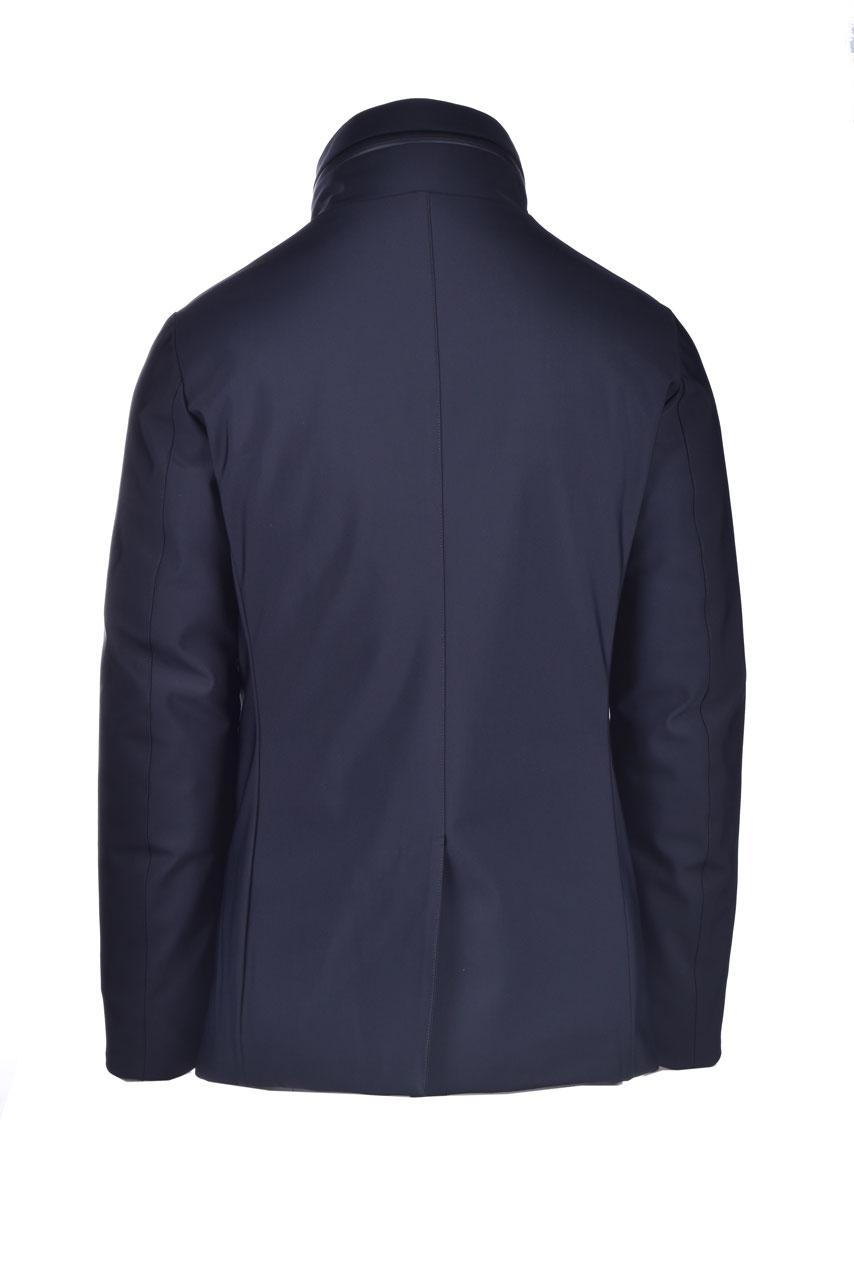 Dark blue down coat MONTECORE | Overcoat | 2920CX151 20257199