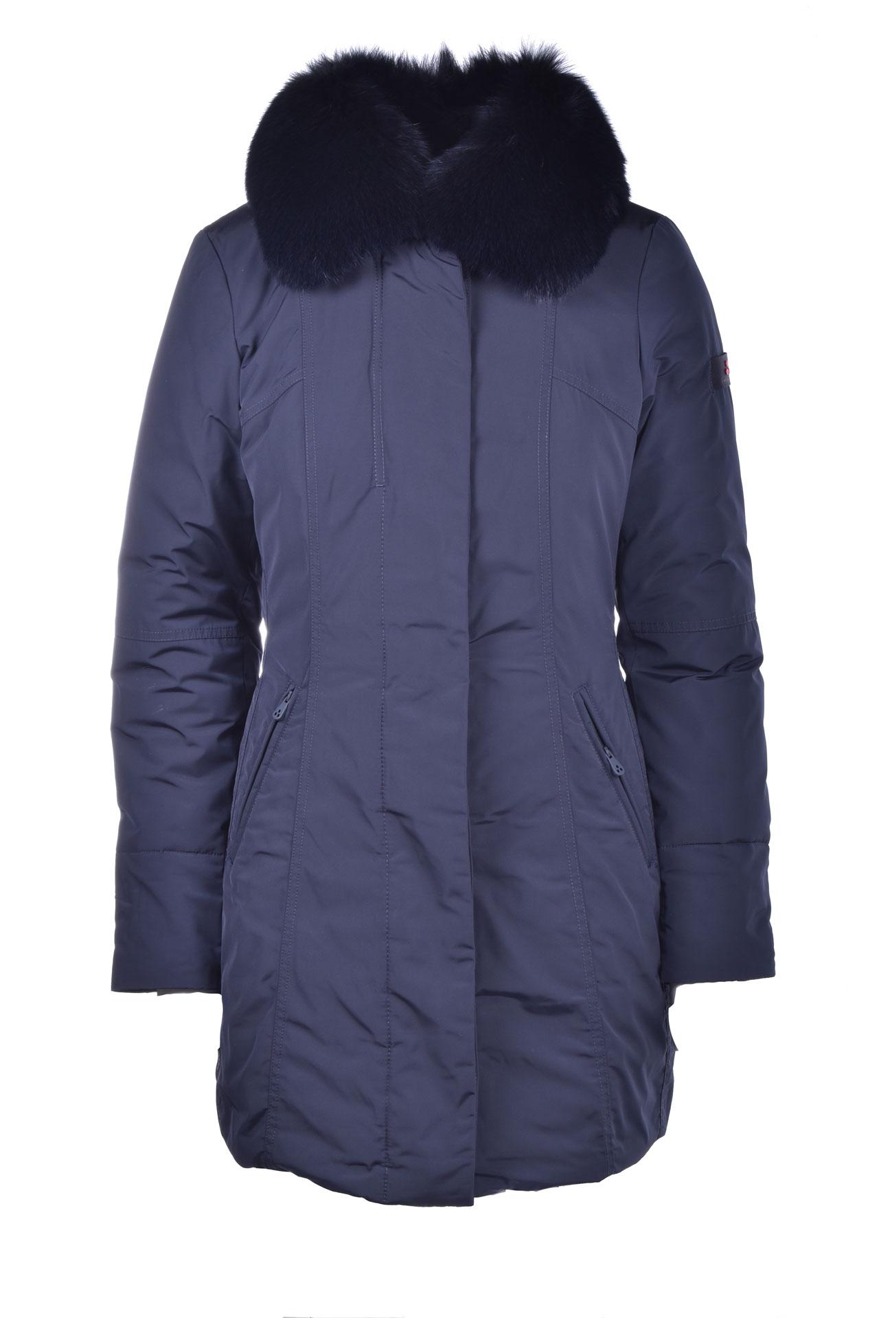 Metropolitan Cappotto slim fit con pelliccia PEUTEREY | Cappotti | PED3617215