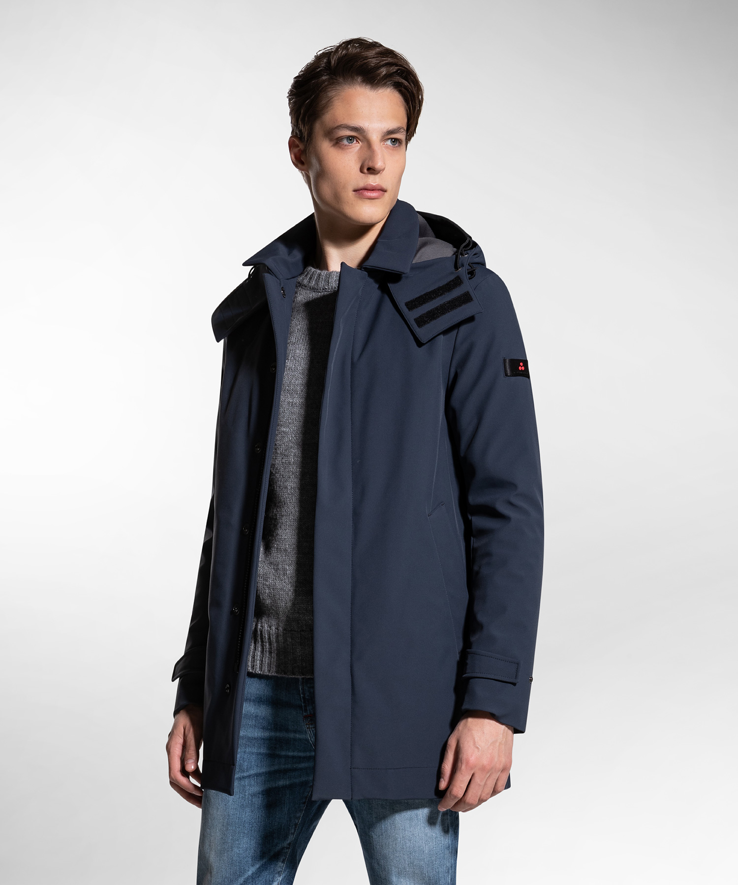 Groff kp - trench coat in padded technical fabric PEUTEREY | Coat | PEU3310215