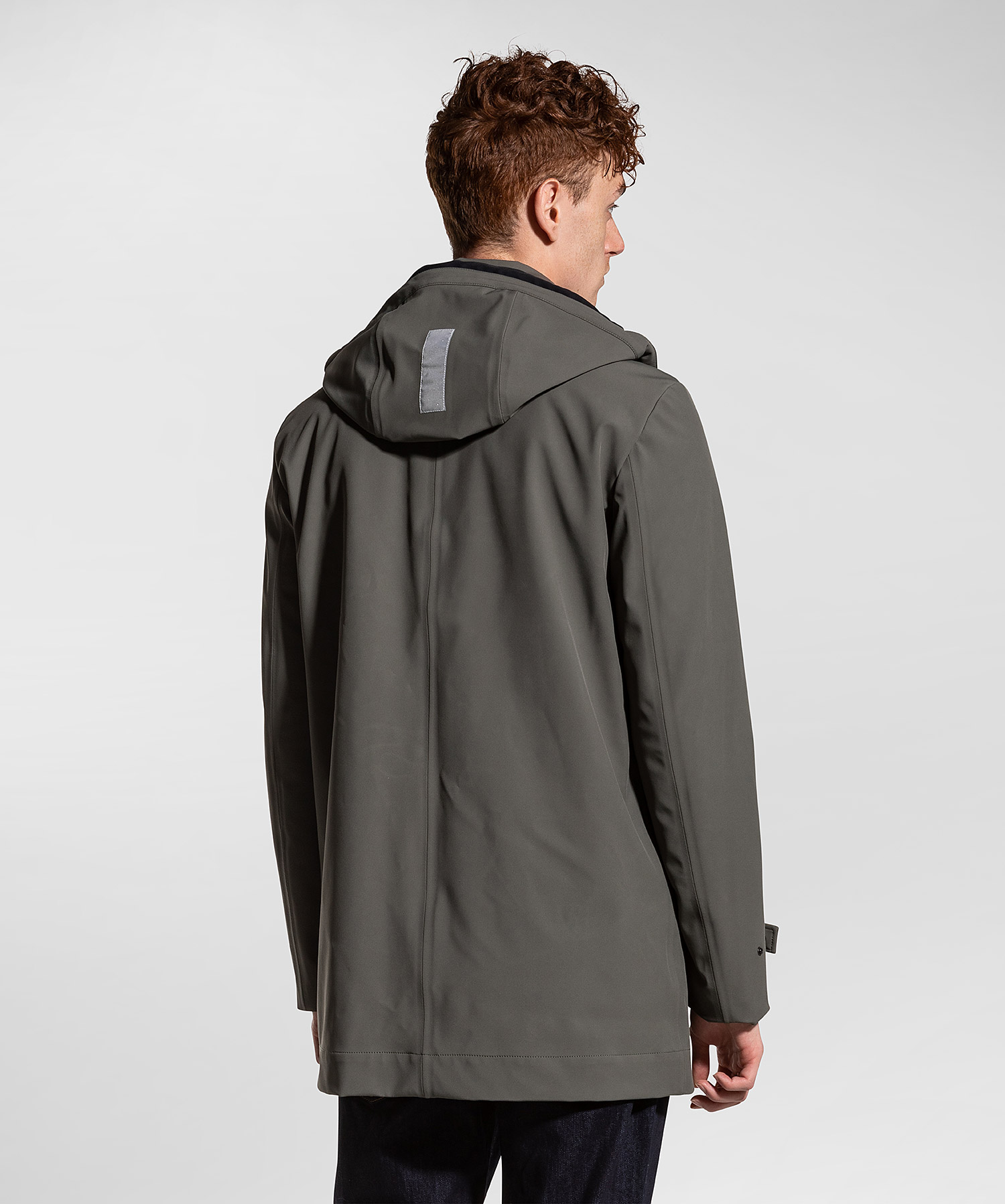 Groff kp - trench coat in padded technical fabric PEUTEREY | Coat | PEU3310690