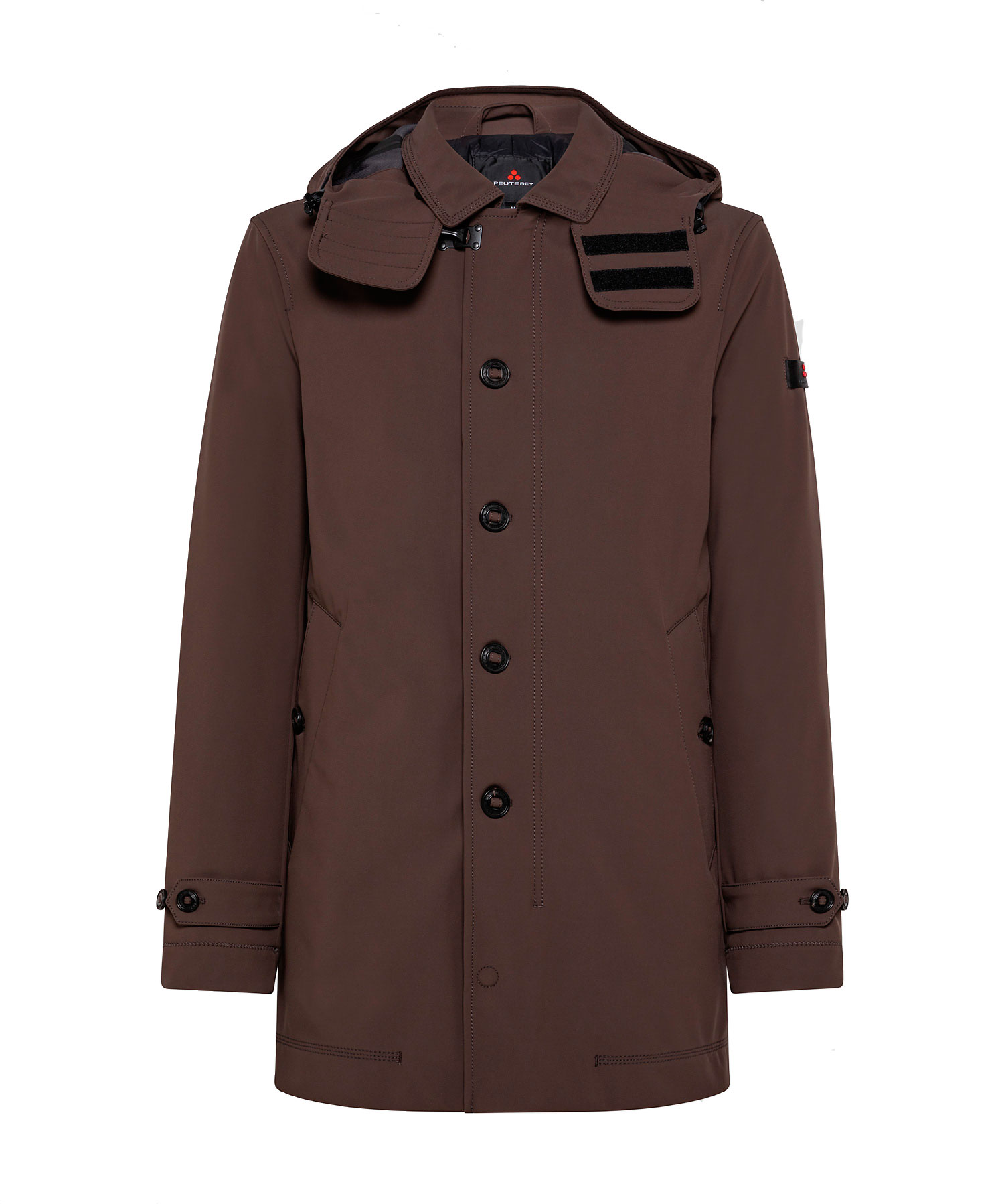 Trebbio kp01 - Padded technical trench coat PEUTEREY | Coat | PEU3700301