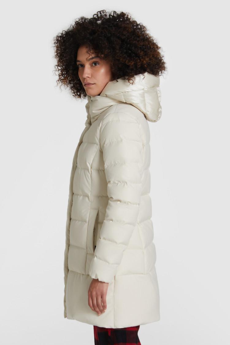 Puffy prescott luxe bianco WOOLRICH | Cappotti | WWOU0355FR-UT23468269