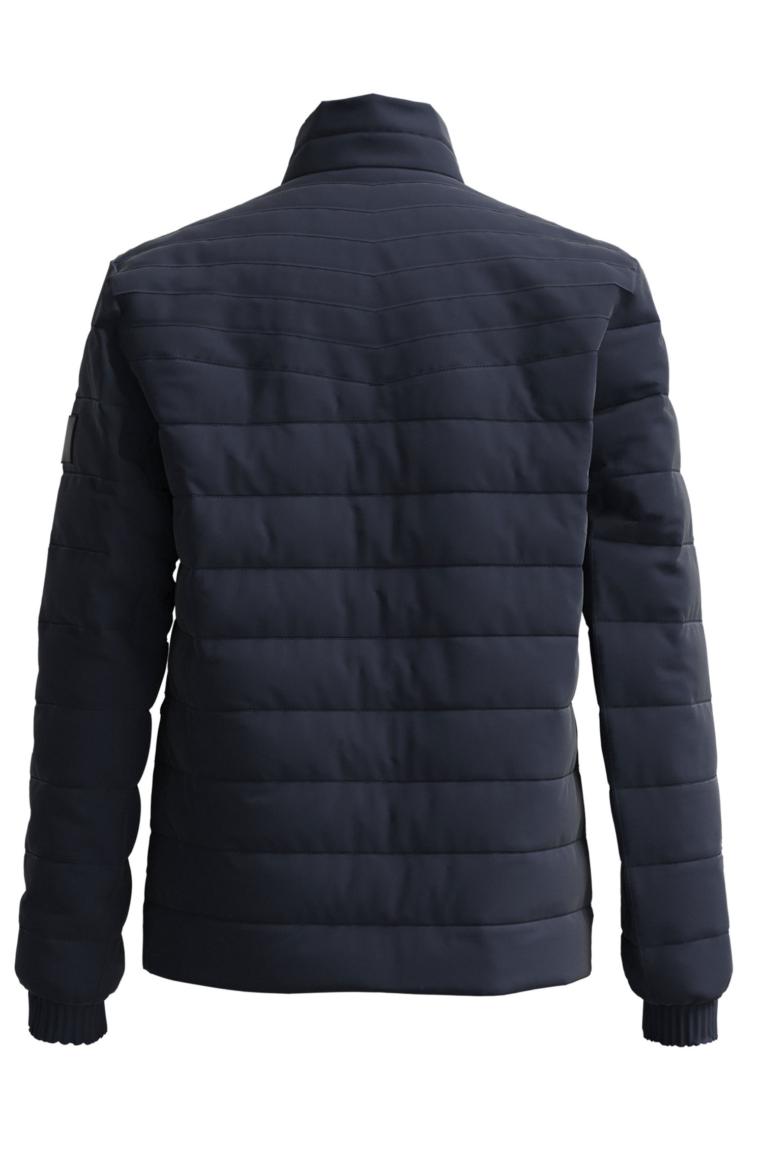 Short down jacket with micro-ottoman structure BOSS | Jackets | 50456024404