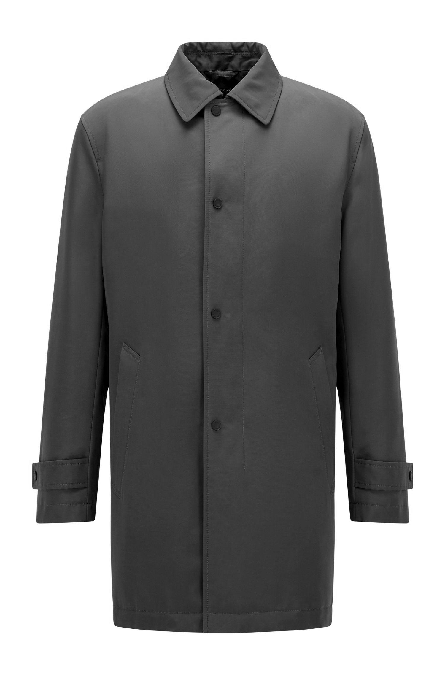 Cappotto impermeabile regular fit in tessuto riciclato BOSS | Cappotti | 50457490001