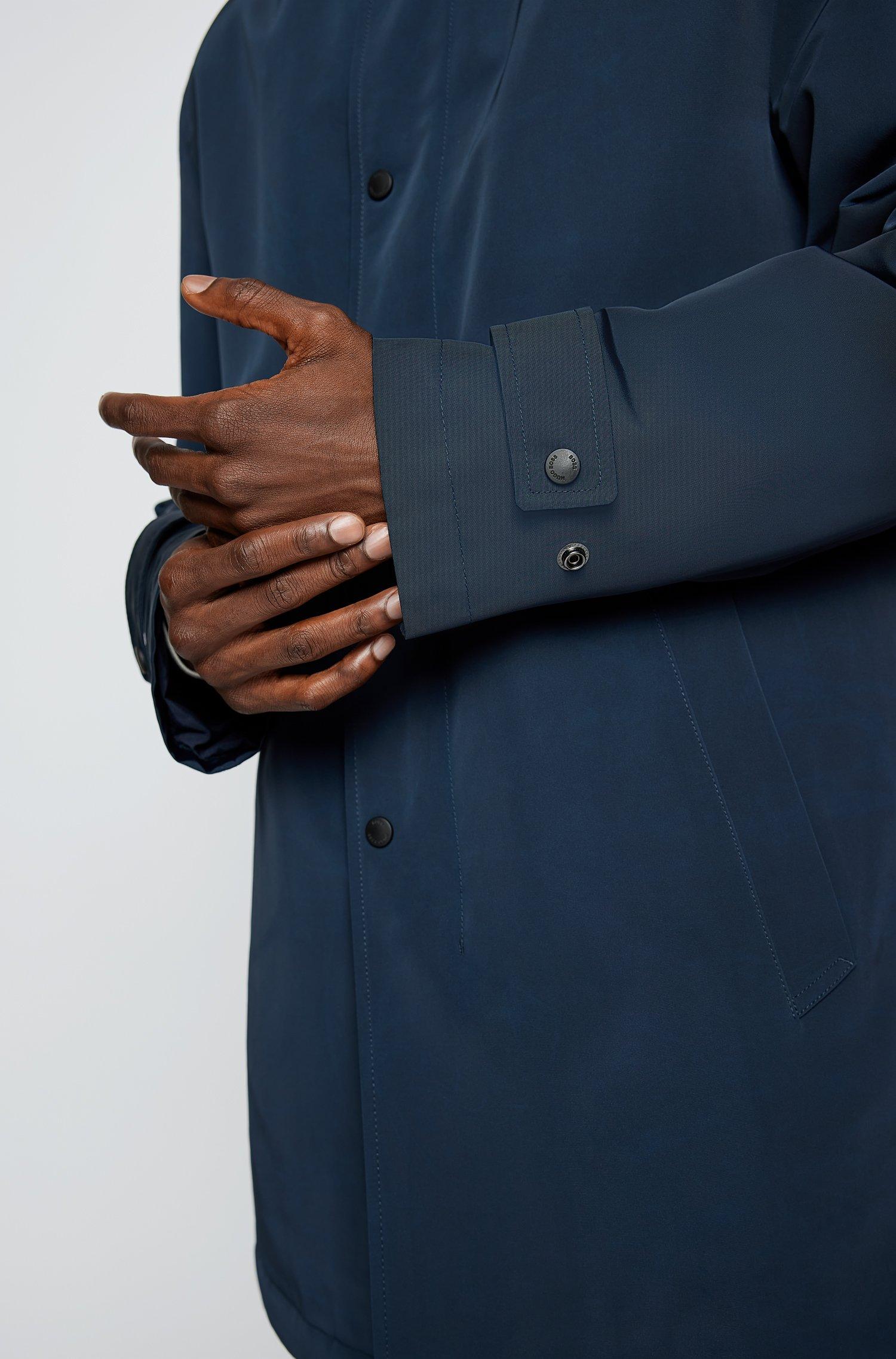Cappotto impermeabile regular fit in tessuto riciclato BOSS | Cappotti | 50457490404