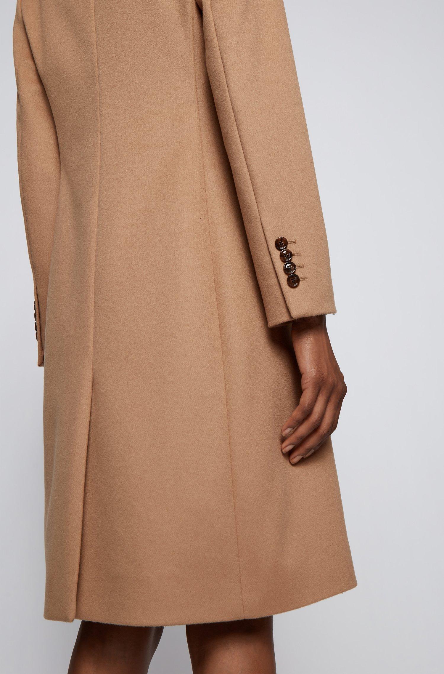 Cappotto regular fit in lana vergine e cashmere BOSS   Cappotti   50459405235