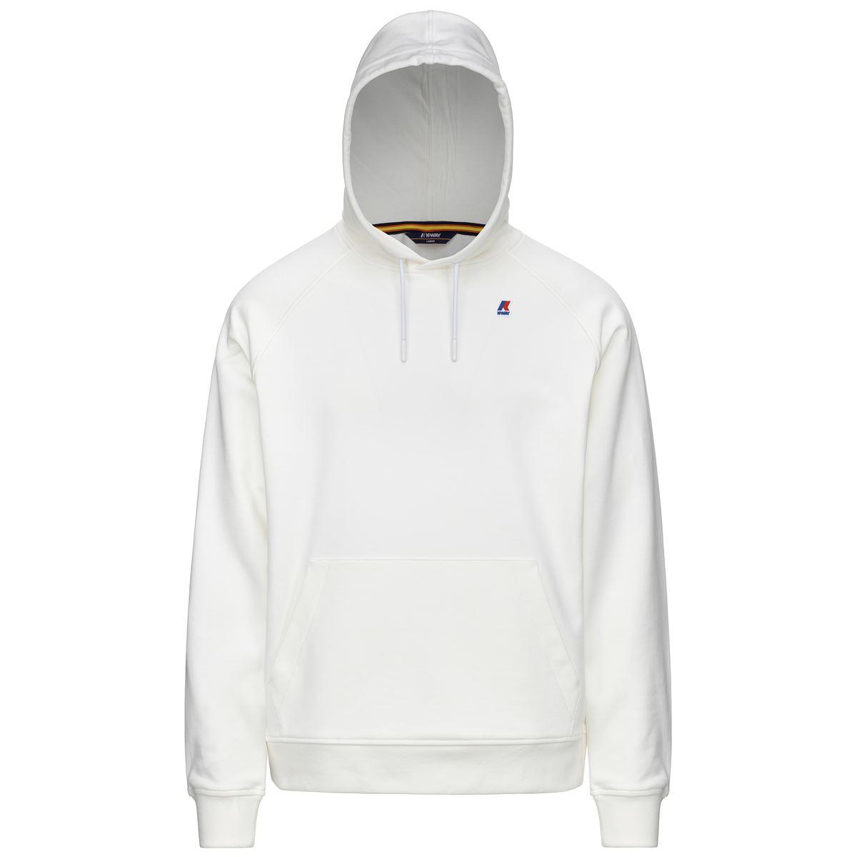 Alban Cotton sweatshirt with hood and pocket K-WAY | Sweatshirt | K11215WXRE