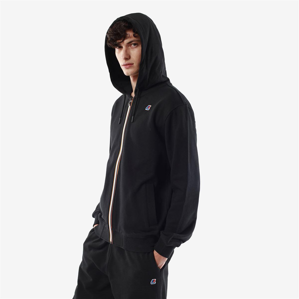 Anthony Cotton sweatshirt with hood and zip K-WAY | Sweatshirt | K1121GWUSY