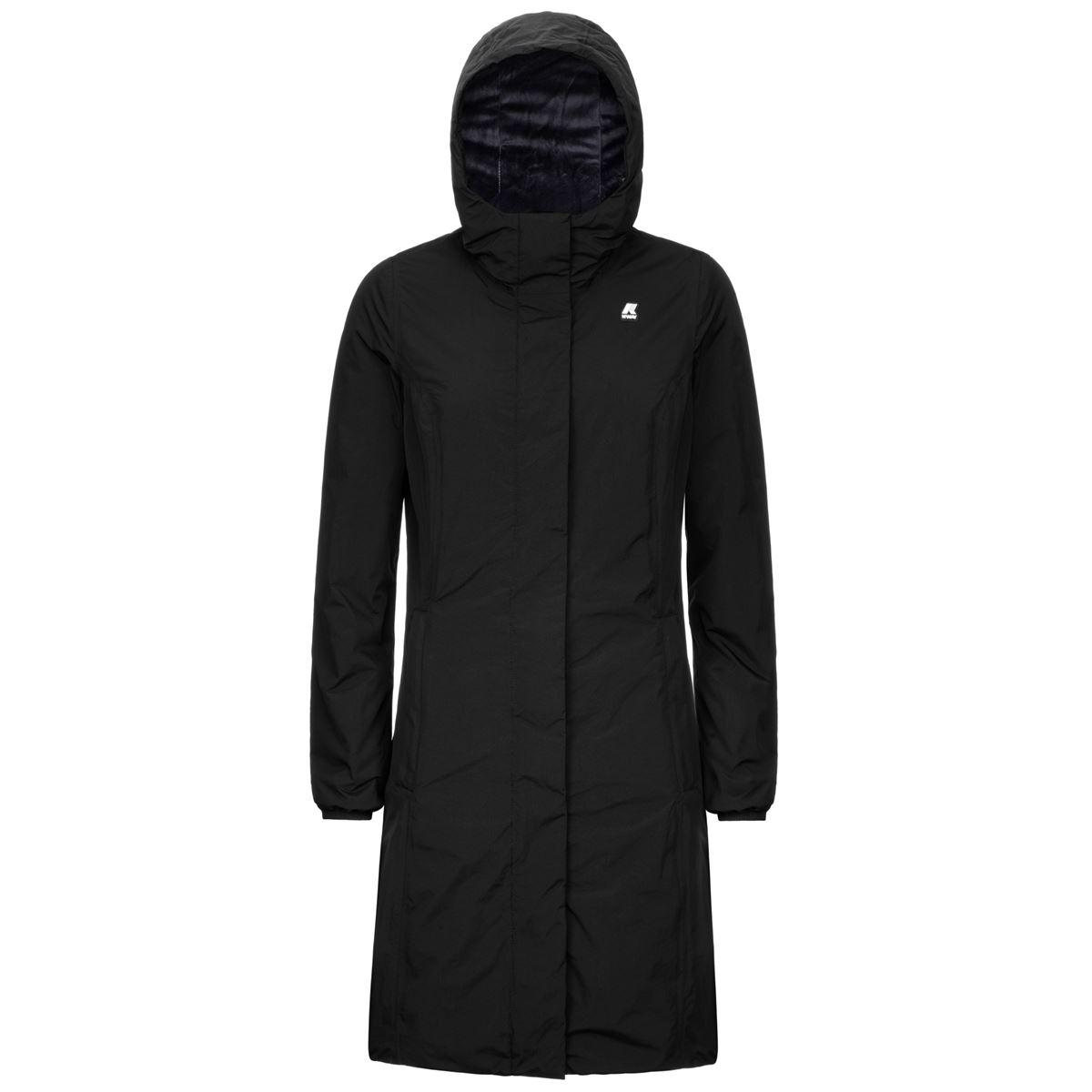 Charlene micro ripstop black K-WAY | Overcoat | K2112WWA3C