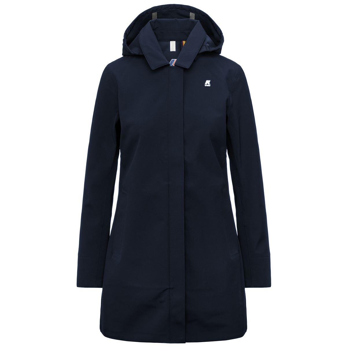 Mathy Bonded Slim fit waterproof coat K-WAY | Overcoat | K41128WA2D