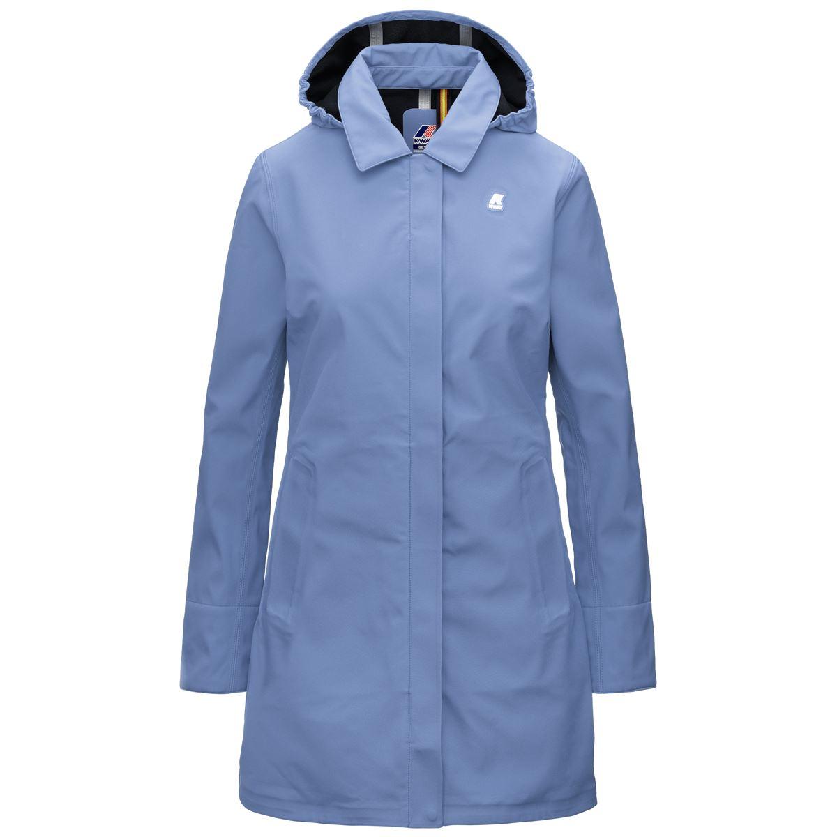 Mathy Bonded Slim fit waterproof coat K-WAY | Overcoat | K41128WA58