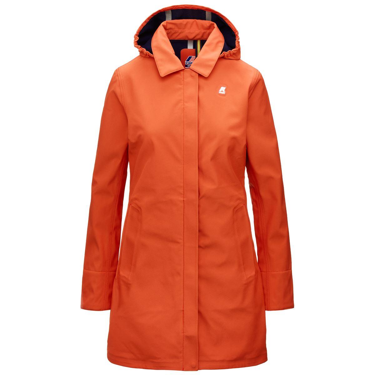 Mathy Bonded Slim fit waterproof coat K-WAY   Overcoat   K41128WBA5