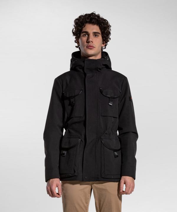 Eco-sustainable Field Jacket with primaloft padding PEUTEREY   Jackets   PEU4109NER