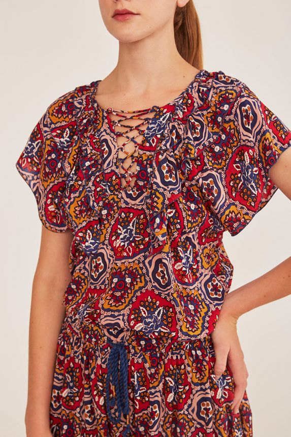 Sam multicolor top. Antik Batik ANTIK BATIK |  | SAM1TEEMULTICO