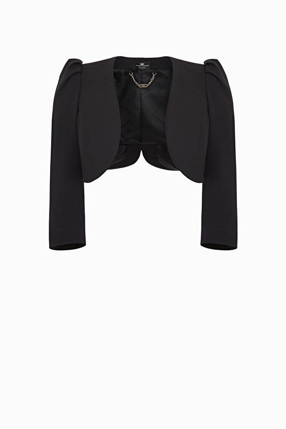 Shrug jacket.Elisabetta Franchi ELISABETTA FRANCHI   Blazers   GI12691E2110