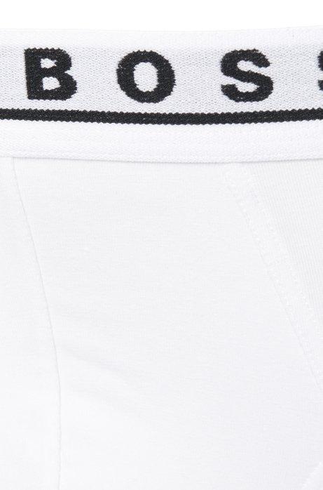 Triple pack of briefs in stretch cotton.HUGO BOOS HUGO BOSS | Bodywear | 50325402100