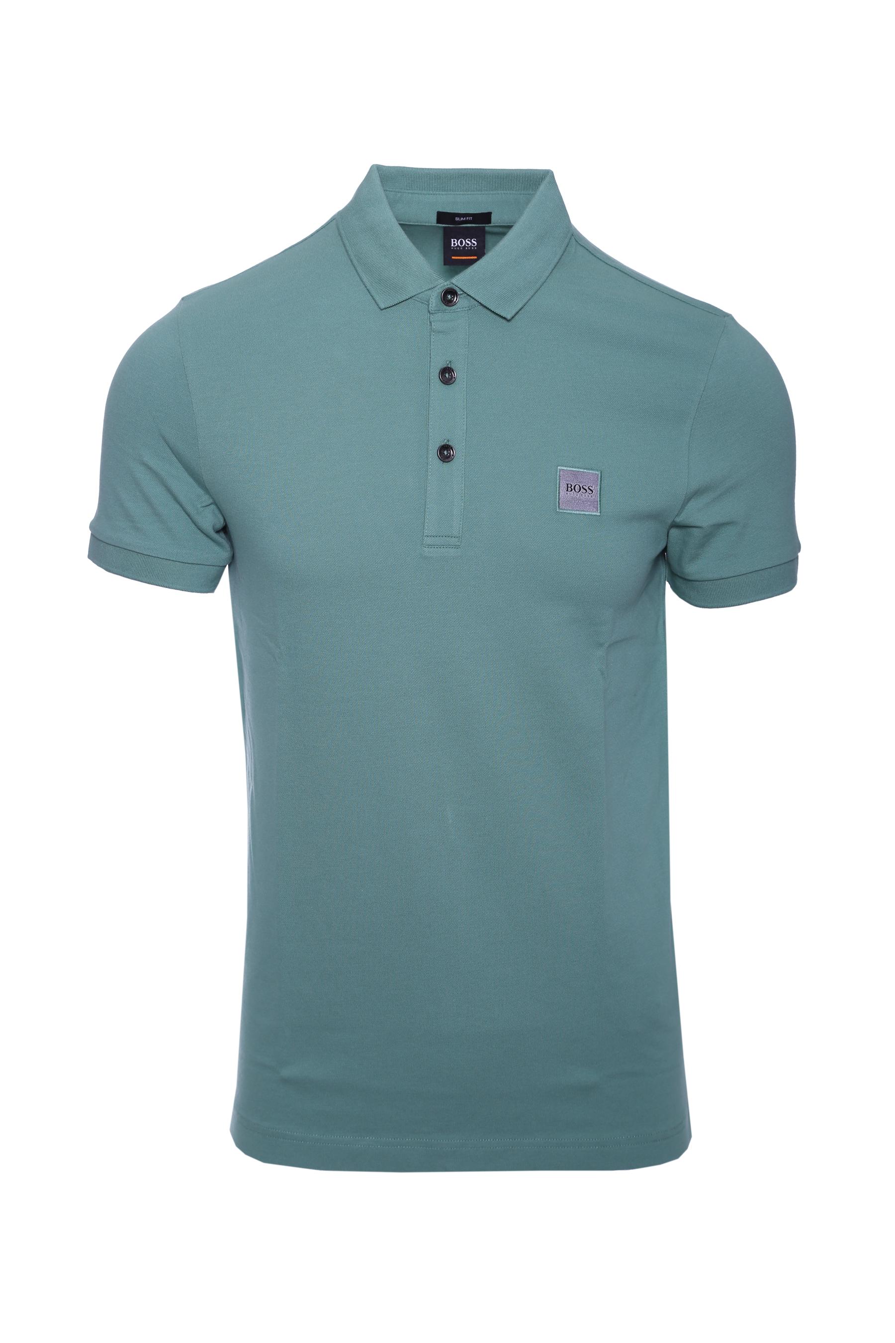 5609a6dc2e Slim-fit polo shirt in stretch cotton piqué BOSS     50378334345