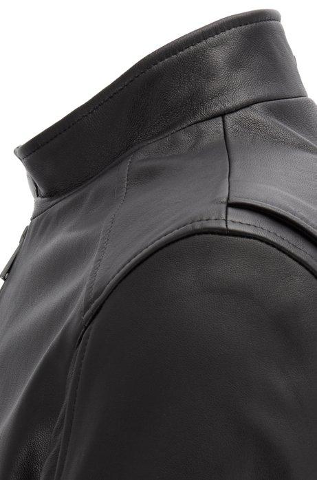 Regular fit blouson in lamb nappa BOSS | Jackets | 50398851001