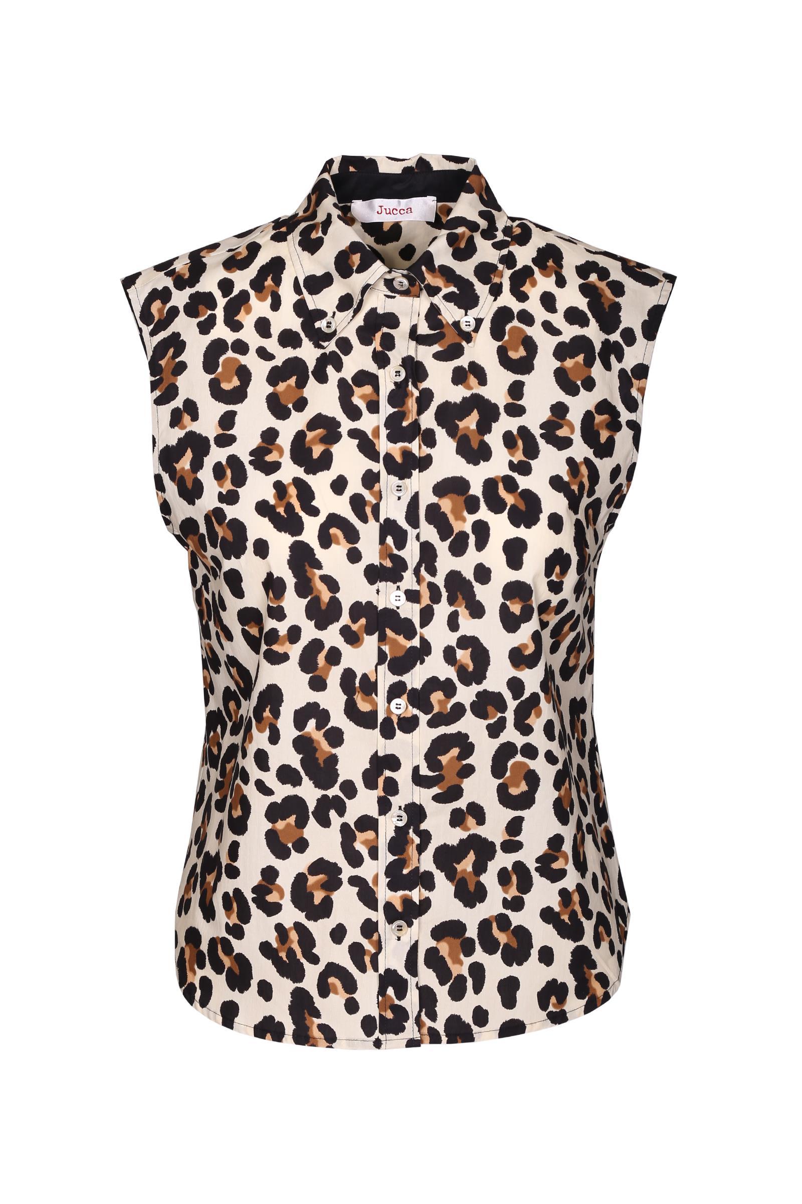Sleveless spotted shirt JUCCA | Shirts | J2912041045
