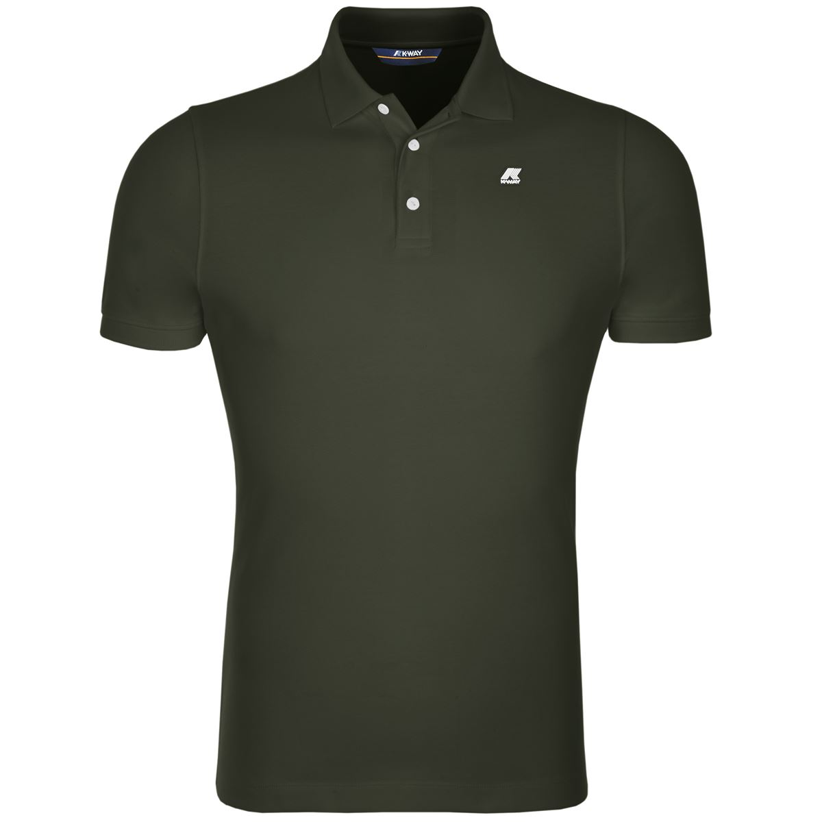 POLO ALAIN - Green Africa K-WAY   Polo Shirts   K0089N0576