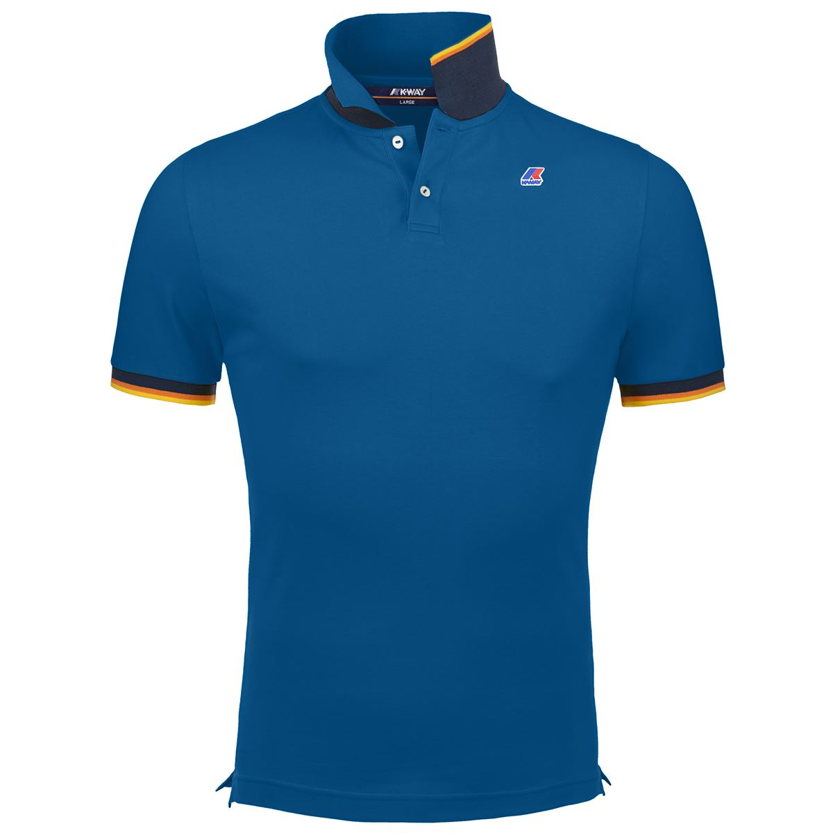 Polo vincent contrast. K-WAY | Polo | K008J50M13