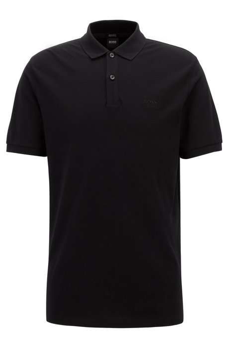 Polo Pallas regular fit due bottoni - nero BOSS | Polo | 50303542001