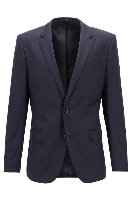 Slim fit jacket hayes-c - dark blue BOSS   Blazers   50318498C401