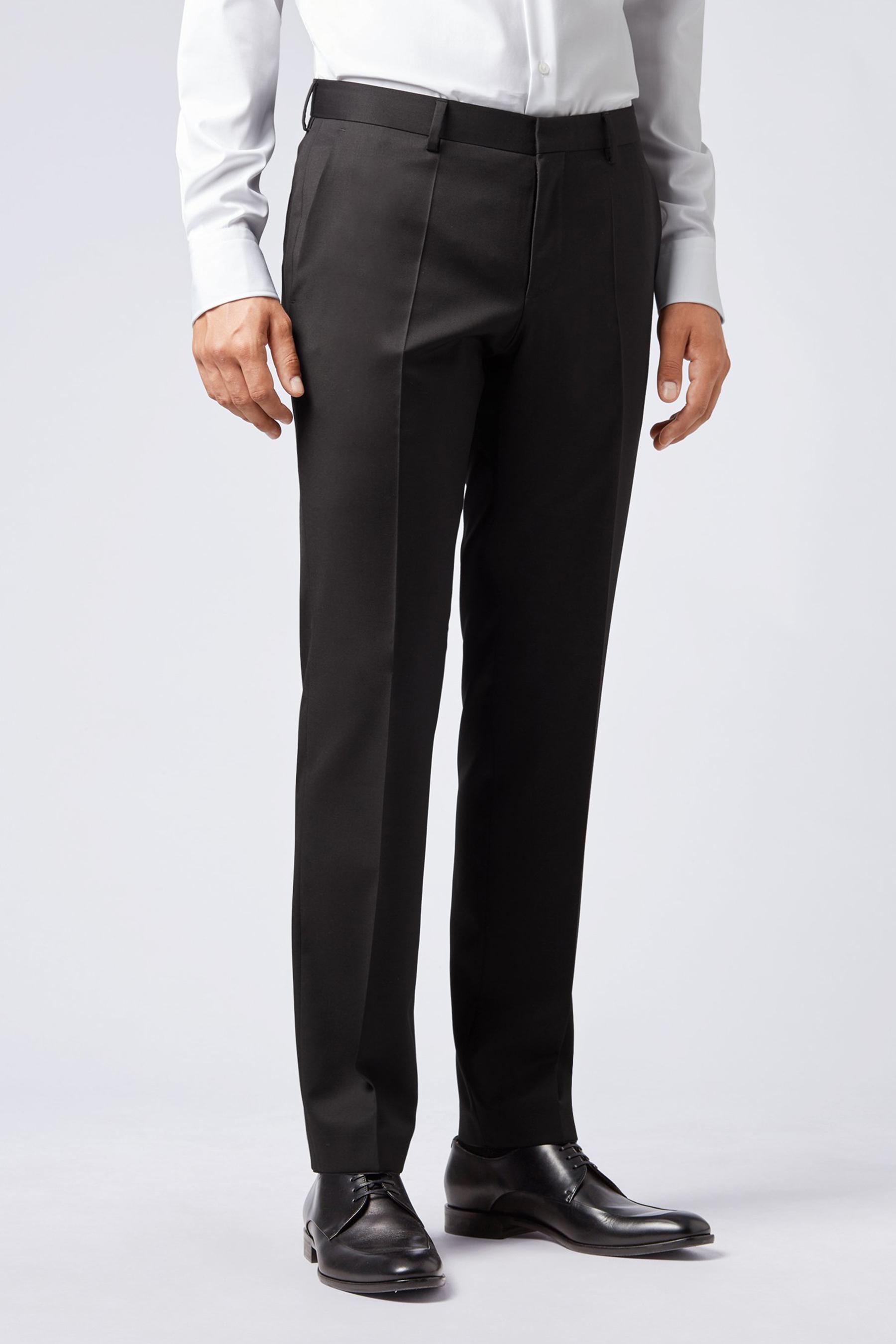 Slim-fit trousers in pure virgin wool BOSS | Trousers | 50318499001