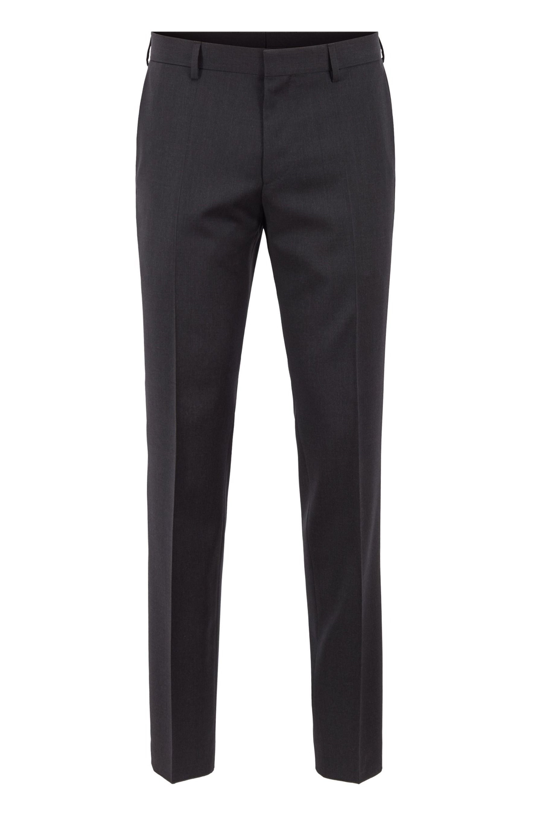 Slim fit pants in virgin wool BOSS   Trousers   50318499C021