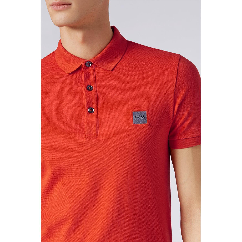 Polo passenger - dark orange BOSS | Polo Shirts | 50378334805