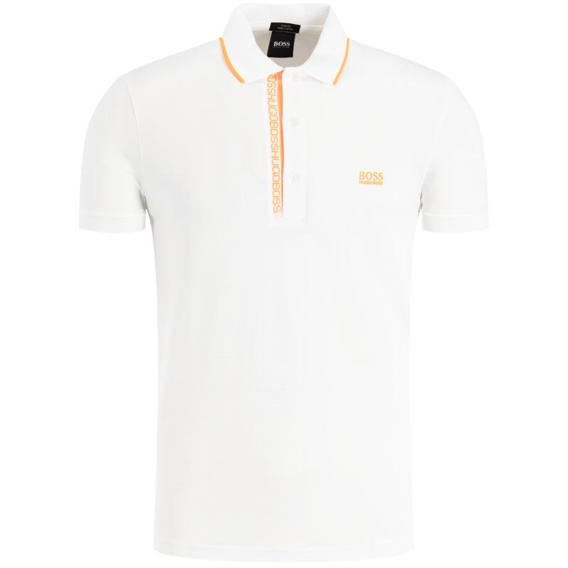 Polo paule Slim-fit Oxford piqué - natural BOSS | Polo Shirts | 50399185102