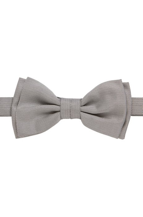 Tied papillon in silk with micro-designs BOSS | Tie | 50406830073