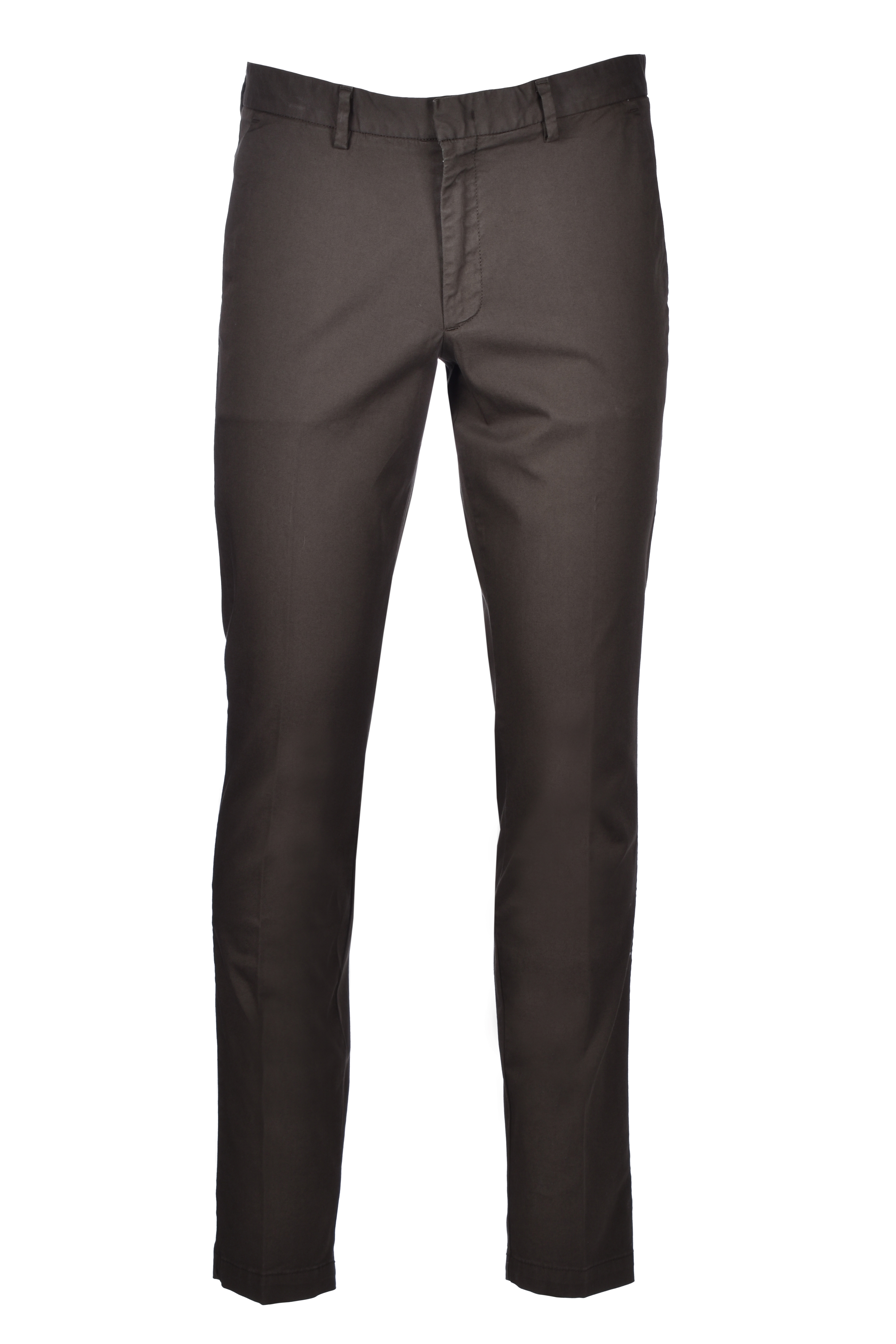 Slim-fit chinos in stretch-cotton gabardine BOSS | Trousers | 50410310342