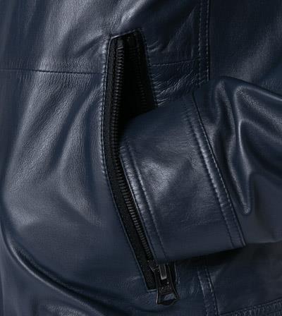 Giubbotto slim fit stile aviatore in pelle Joles 50425575 BOSS | Giubbini | 50425575404