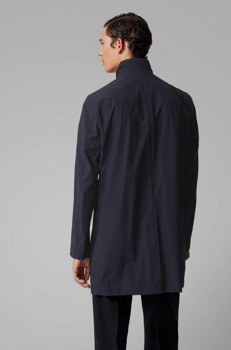 deean Cappotto slim fit idrorepellente con colletto rialzato - blu BOSS | Cappotti | 50427242402
