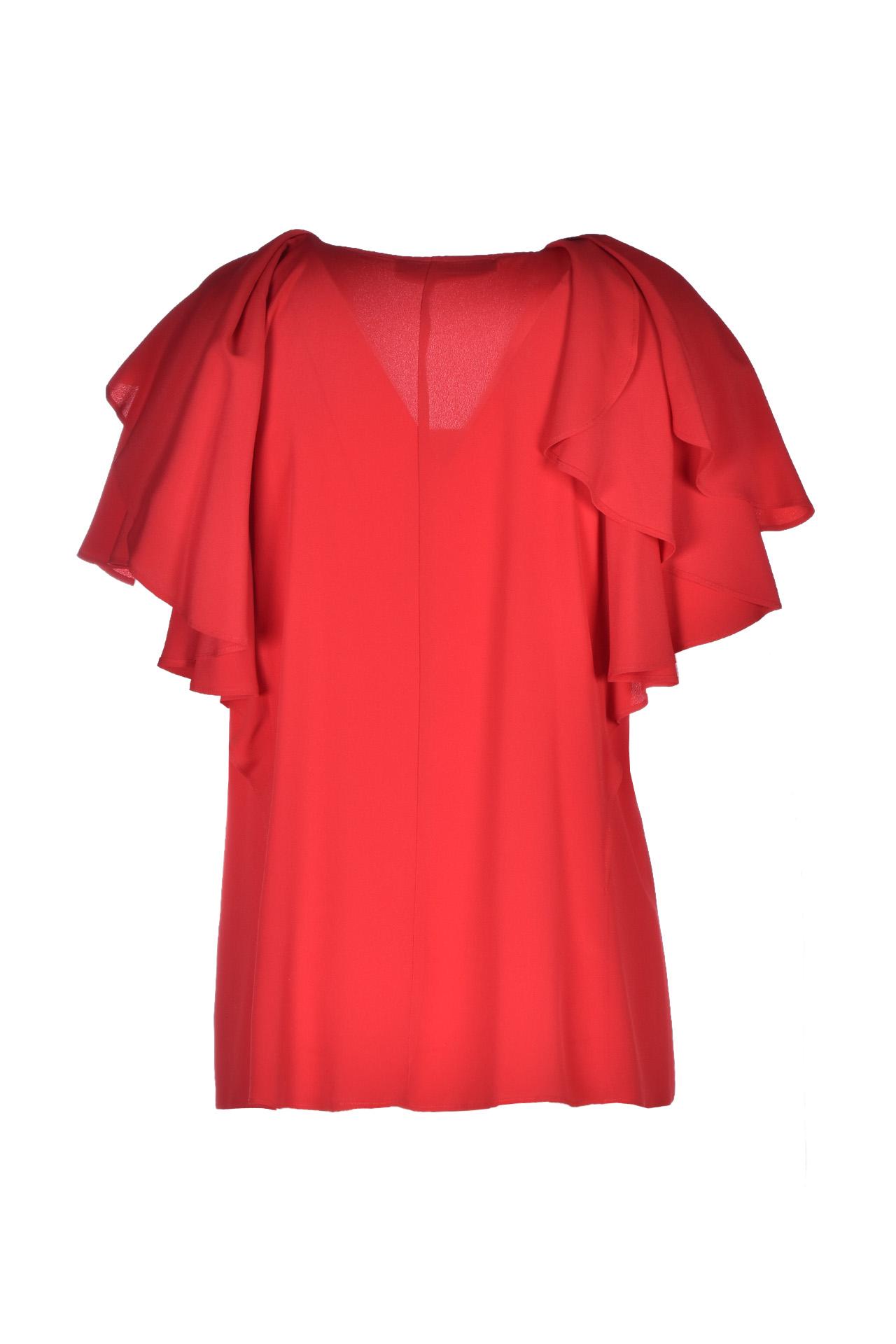 Ruffle sleeve shirt - poppy JUCCA | Blouses | J3112021656