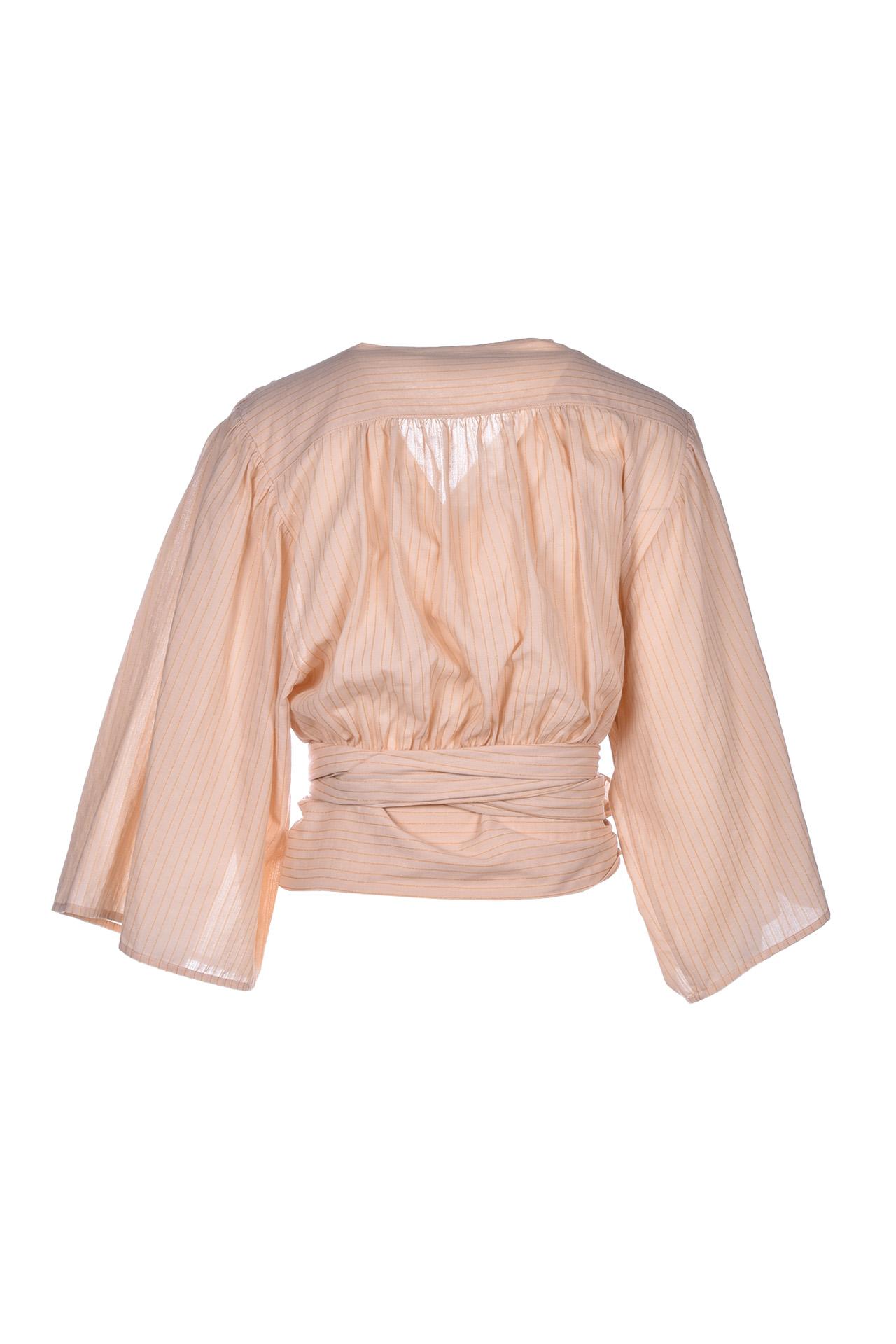Blusa kimono con nastro - brut JUCCA | Bluse | J31220041658