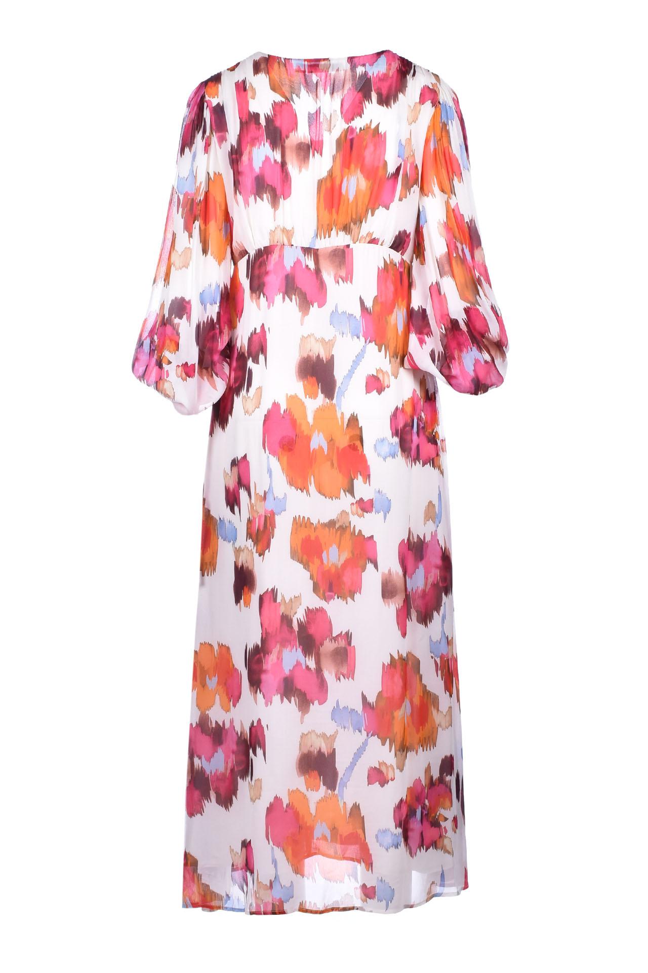 Long V-neck dress - fantasy JUCCA | Dresses | J3127026045