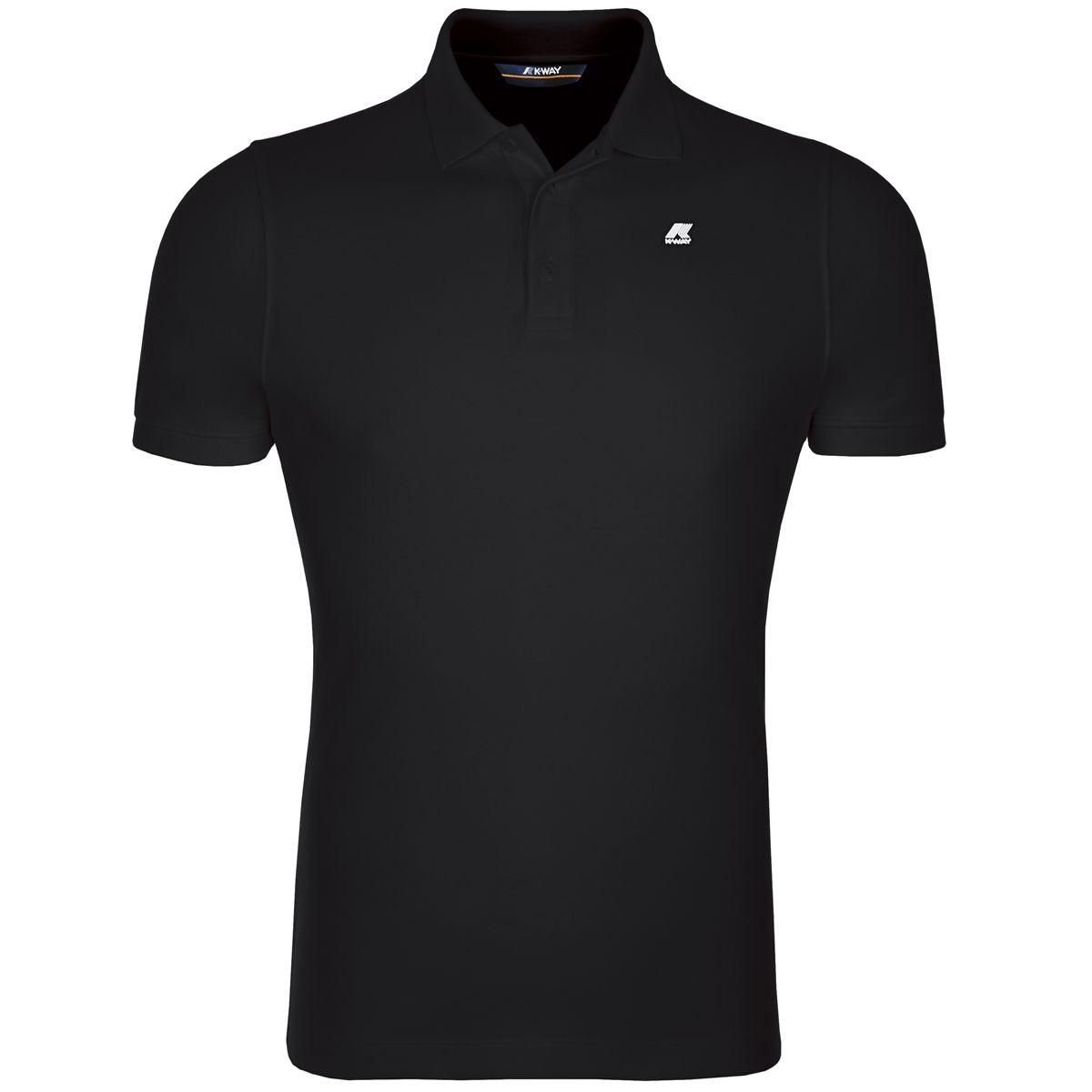 POLO ALAIN - Black K-WAY | Polo Shirt | K0089N0K02