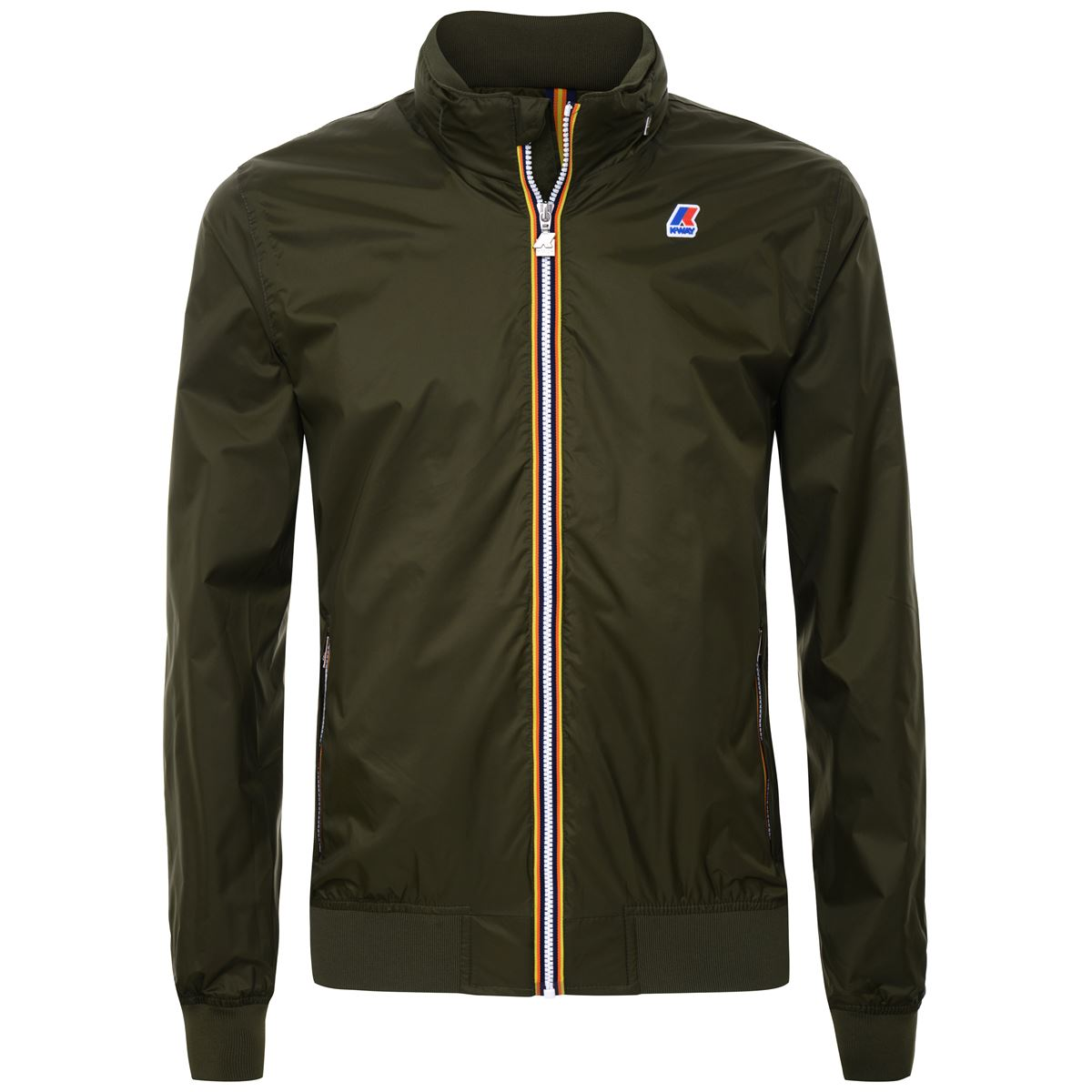 Amaury nylon jersey jacket - green Africa K-WAY | Jackets | K009FN0576