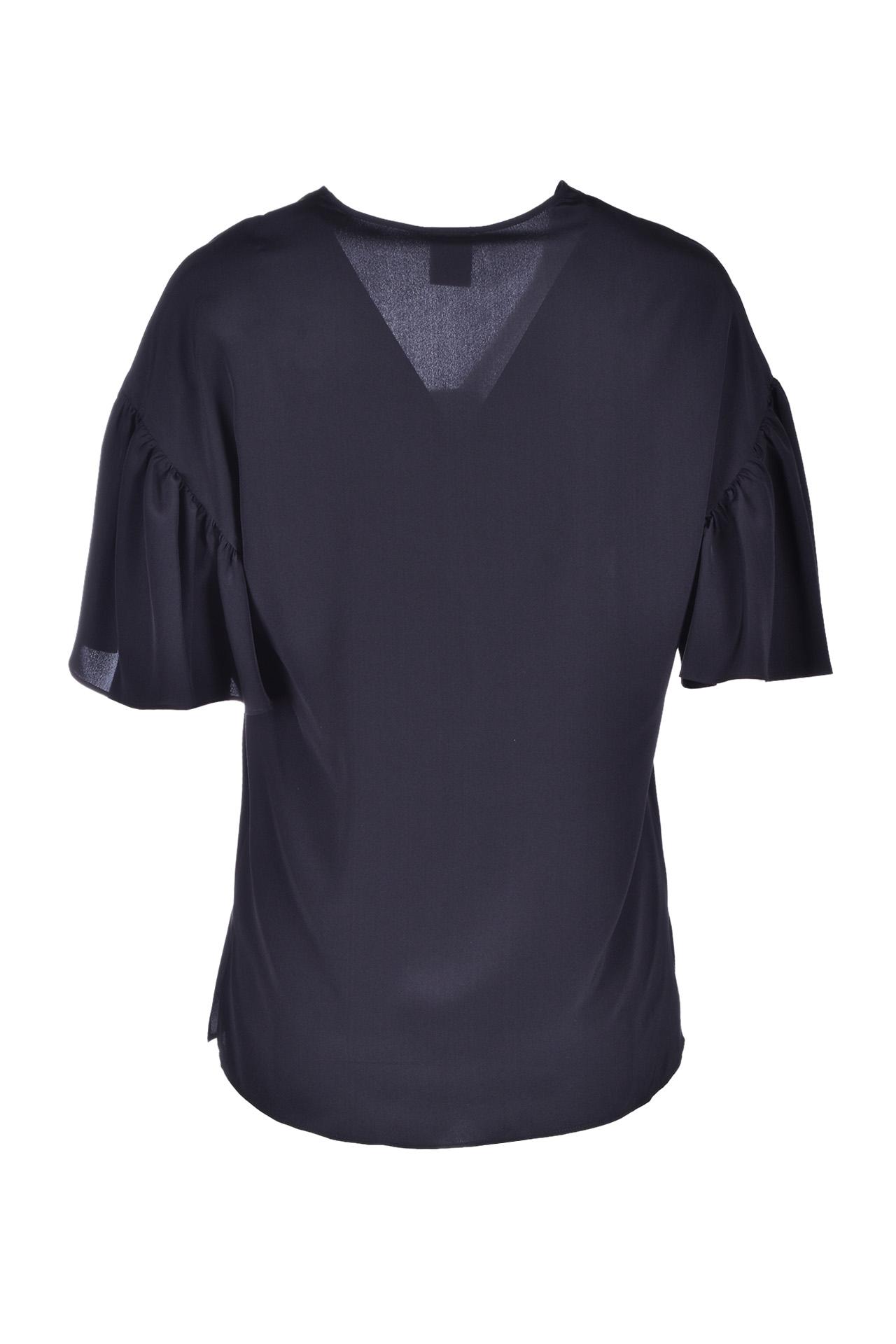 Black silk blouse M MISSONI | Blouse | 2DJ00074/2W001093911