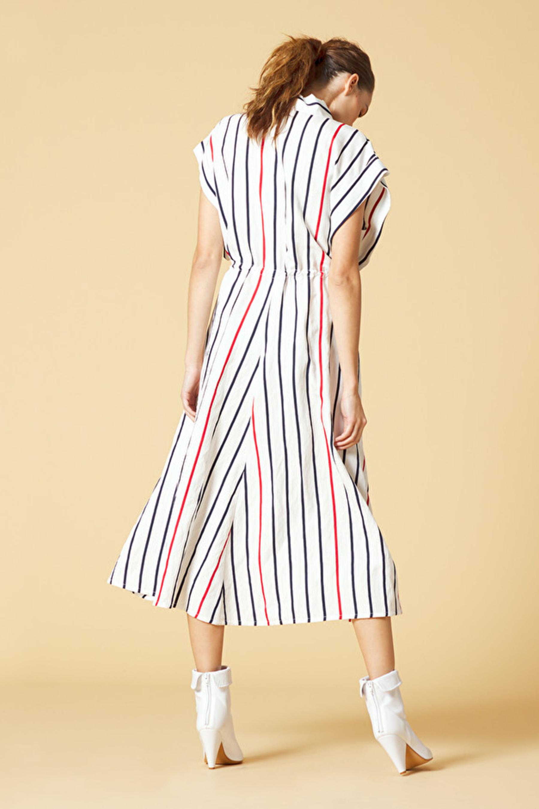 Striped shirt dress MANILA GRACE | Dresses | A060VIMD829