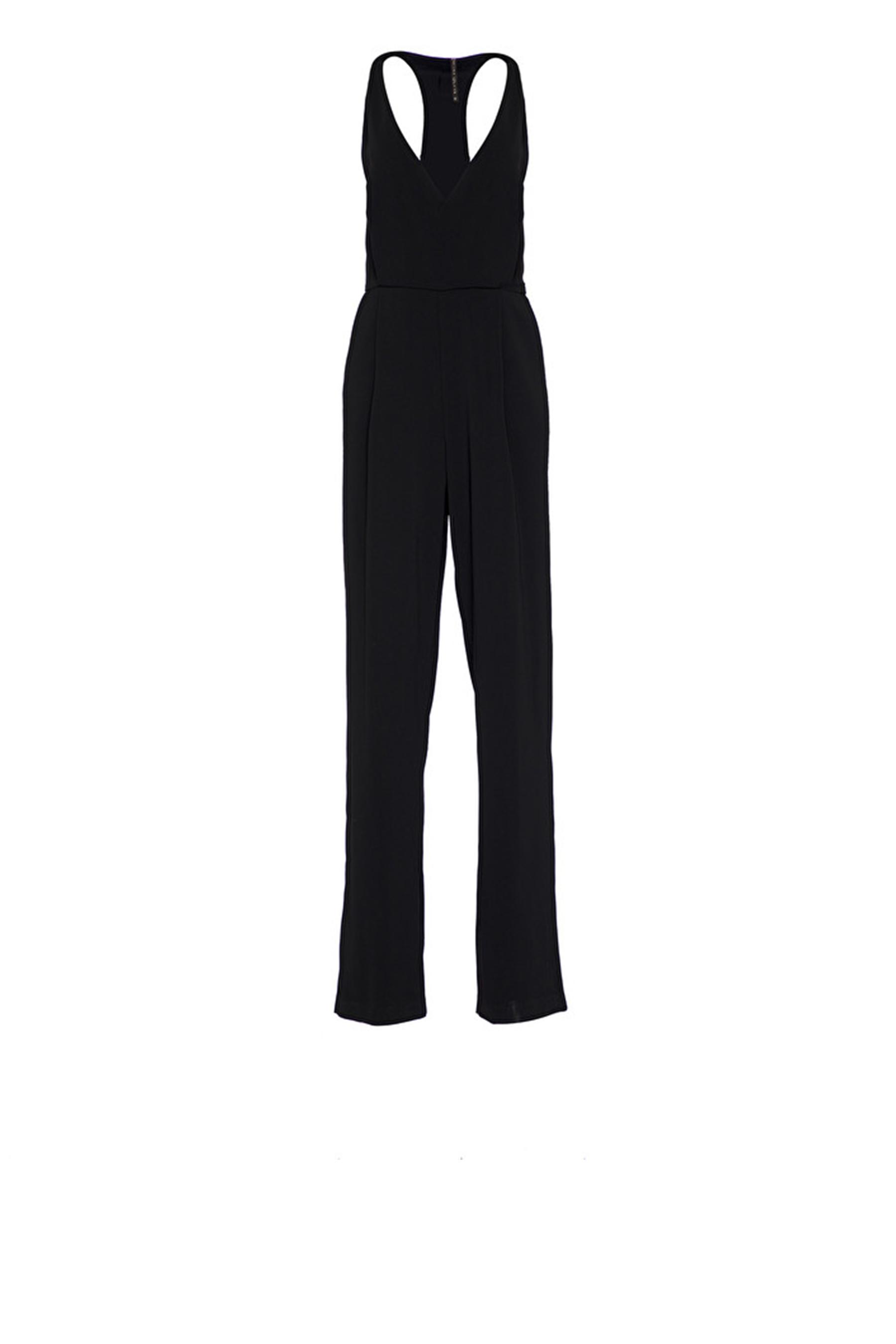 Jumpsuit with wrap neckline MANILA GRACE |  | A215PUMD500