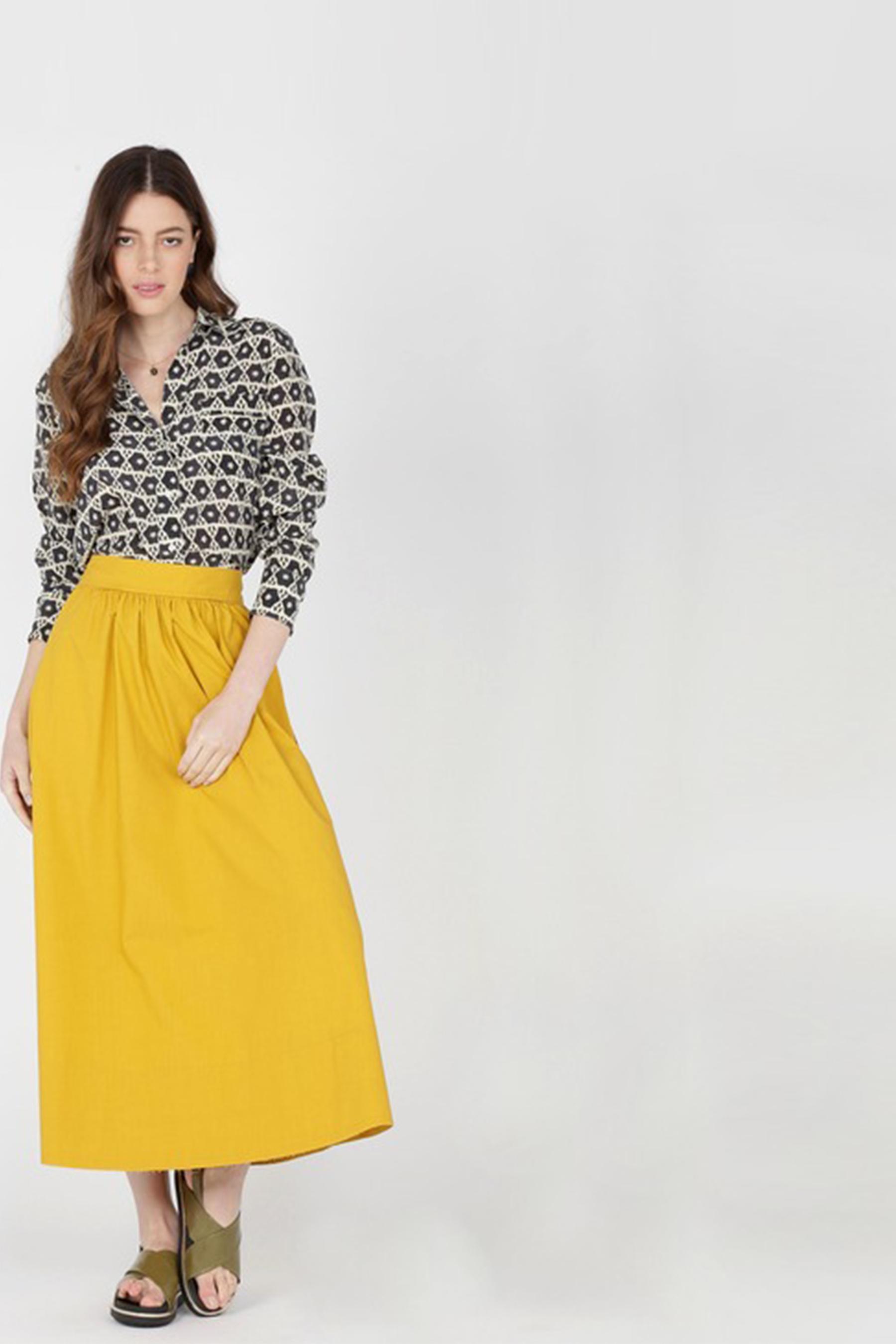Velvet skirt MOMONI | Skirts | MOSK004 07MO0260