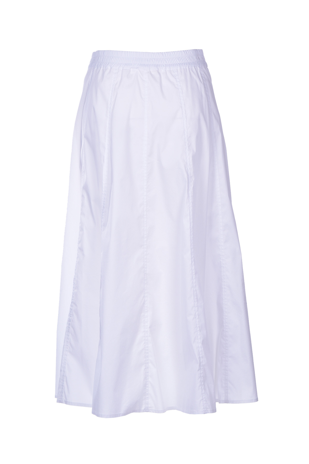arabelle long skirt with buttons - white SEMICOUTURE |  | S0SK01A01-0