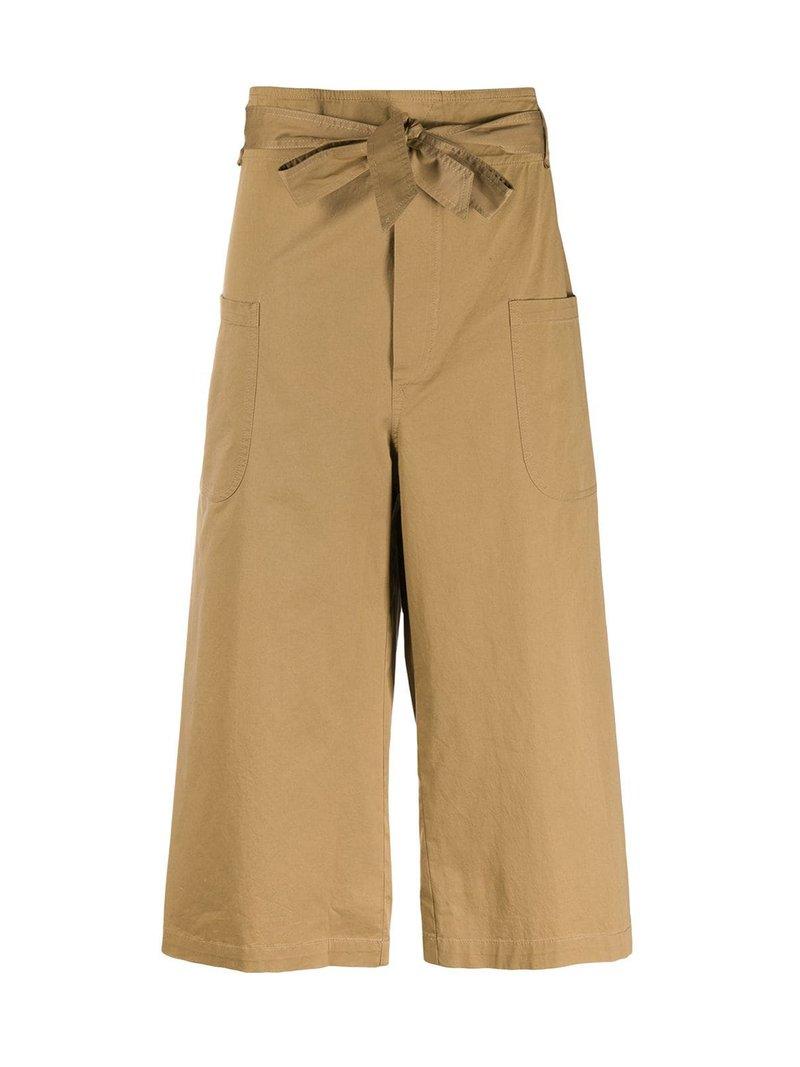 Pantaloni crop a gamba ampia SEMICOUTURE   Pantaloni   S0SQ06V42-0